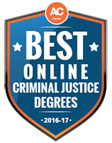 Best Online Award for Criminal Justice Degrees