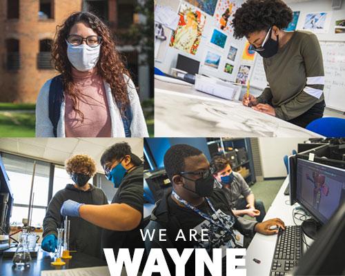 We Are Wayne banner image.