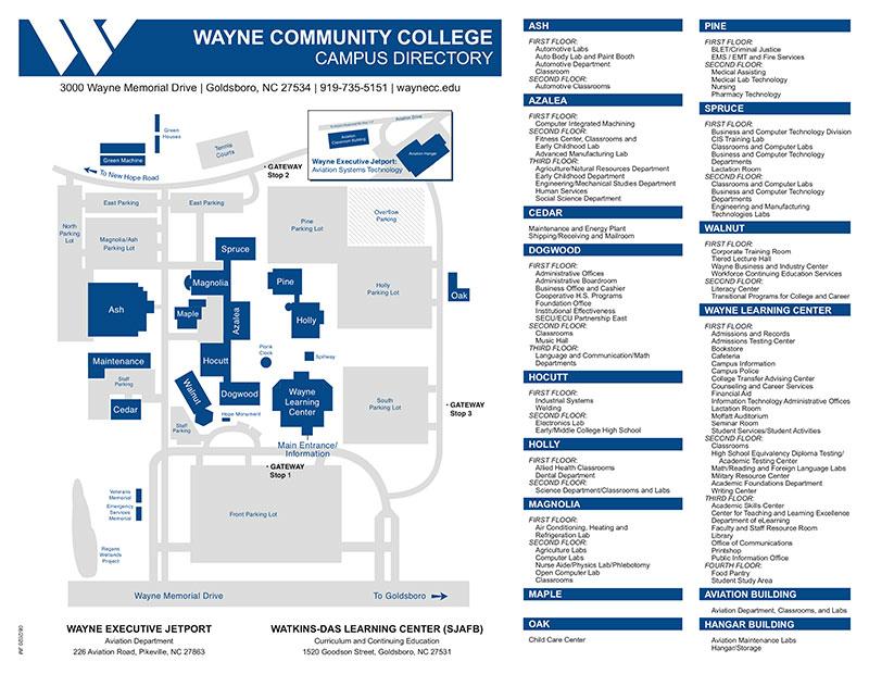 Campus Map image.