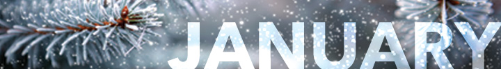 January Scholarships Banner