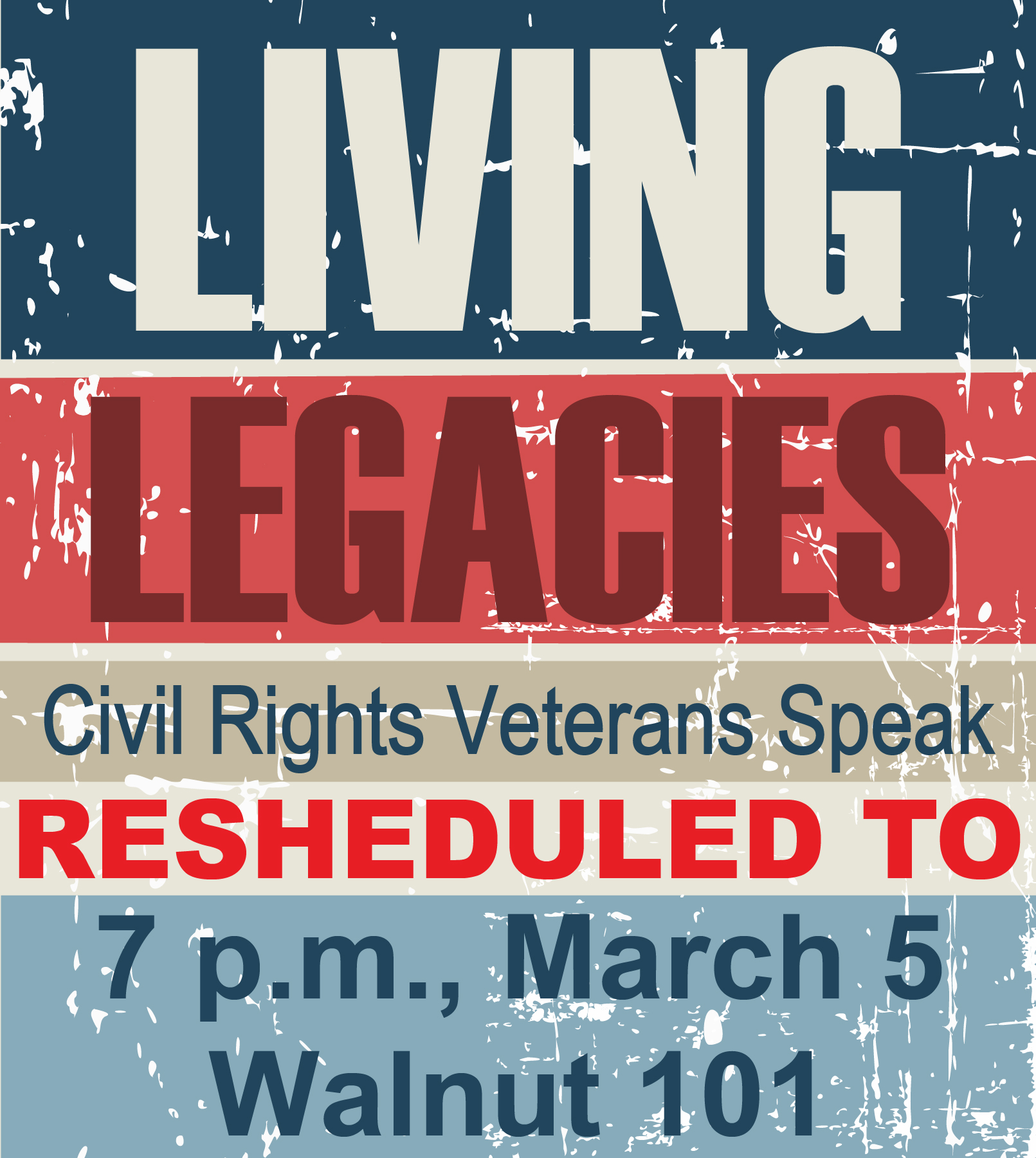 Local Civil Rights Veterans to Speak Thursday