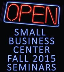 Fall Small Business Seminars