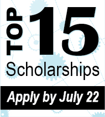 Renewable Scholarships for 15 Programs