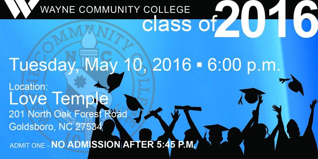 details for graduation 2016
