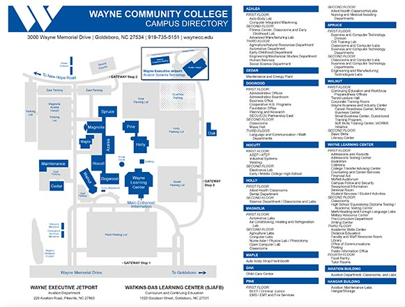 Campus Video Tours Wayne Community College Goldsboro Nc