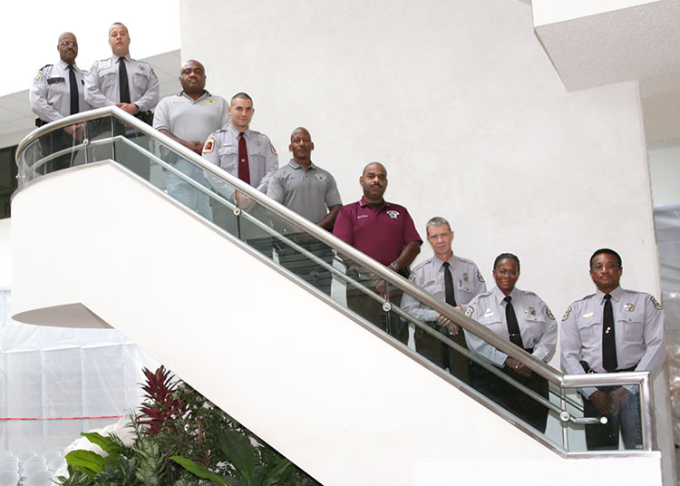 group image of campus police