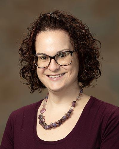 Portrait of Katy Jones.