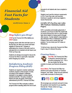 Financial Aid Fast Facts for Students