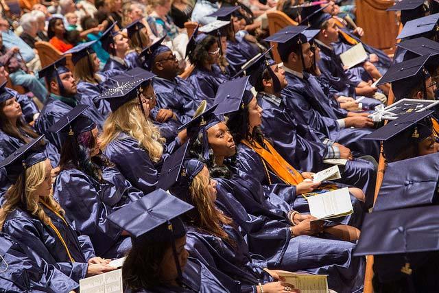 Photo of graduates.