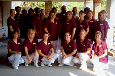 image of group shot of nursing students