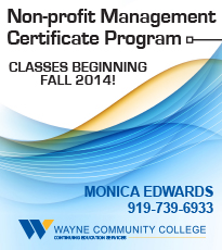 Two Non-profit Management Classes in December