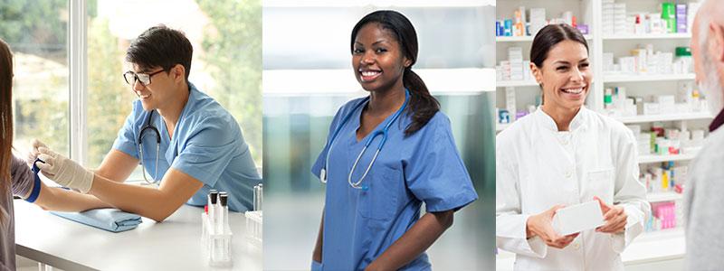 Allied Health header image.