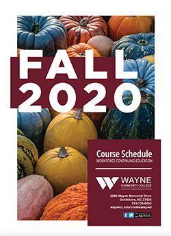 Fall 2020 ConEd Schedule Cover