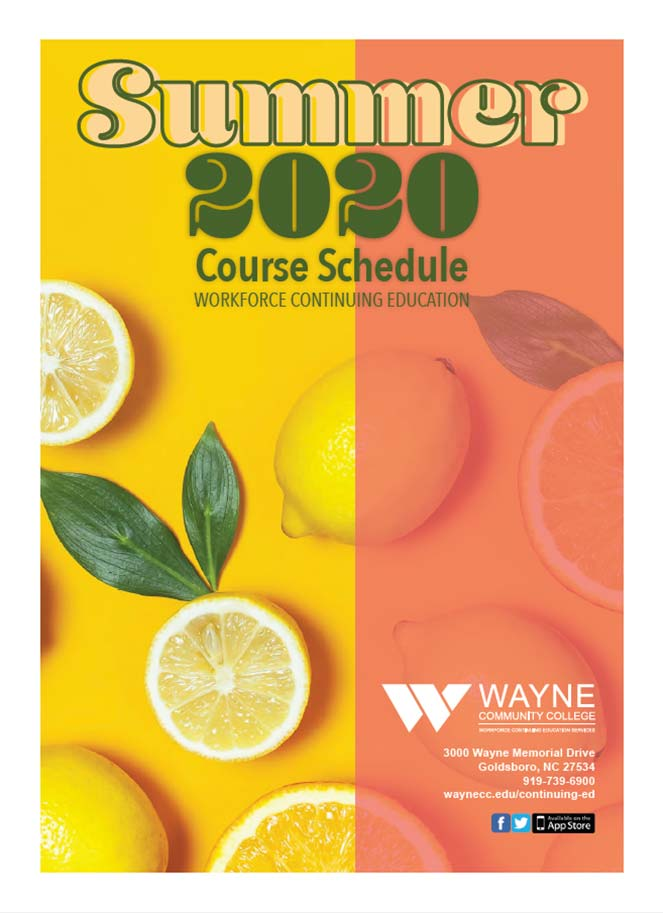 Summer 2020 ConEd Schedule Cover