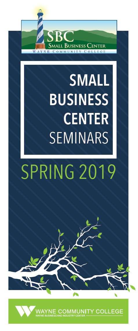 Click here to view the Small Business Center Seminars flyer for Summer 2018