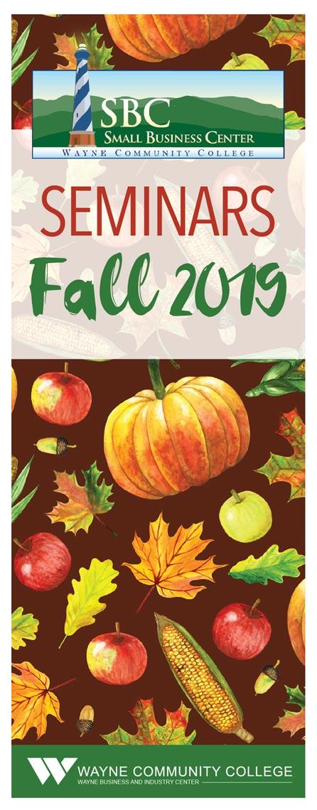 Fall 2019 Seminars